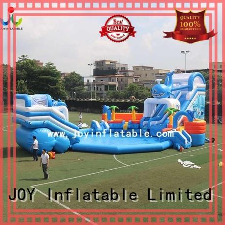 inflatable Custom hot selling new inflatable funcity JOY inflatable park
