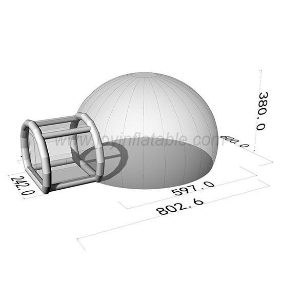 JOY inflatable slides clear inflatable bubble tent for children-1