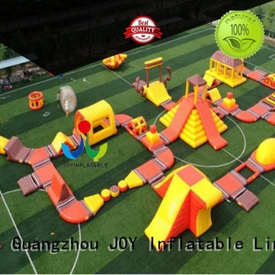 JOY inflatable inflatable water playground design for outdoor
