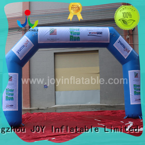 run inflatable race arch personalized for outdoor