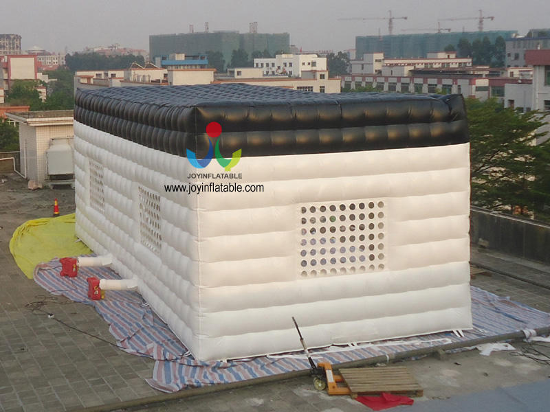 Hot Sale Customized Cube Gain Inflatable Exhibition Tent-3