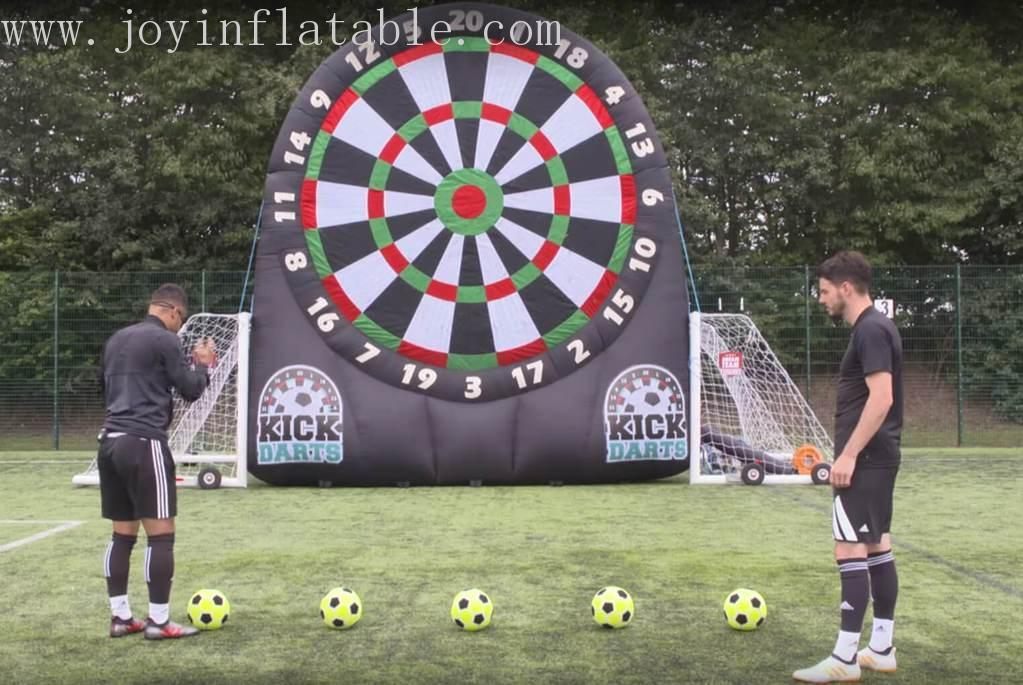 Inflatable Football Dart Board Game With Double Sides-2