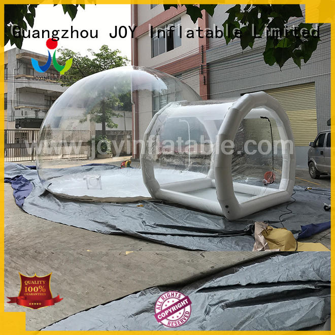 JOY inflatable slides clear inflatable bubble tent for children