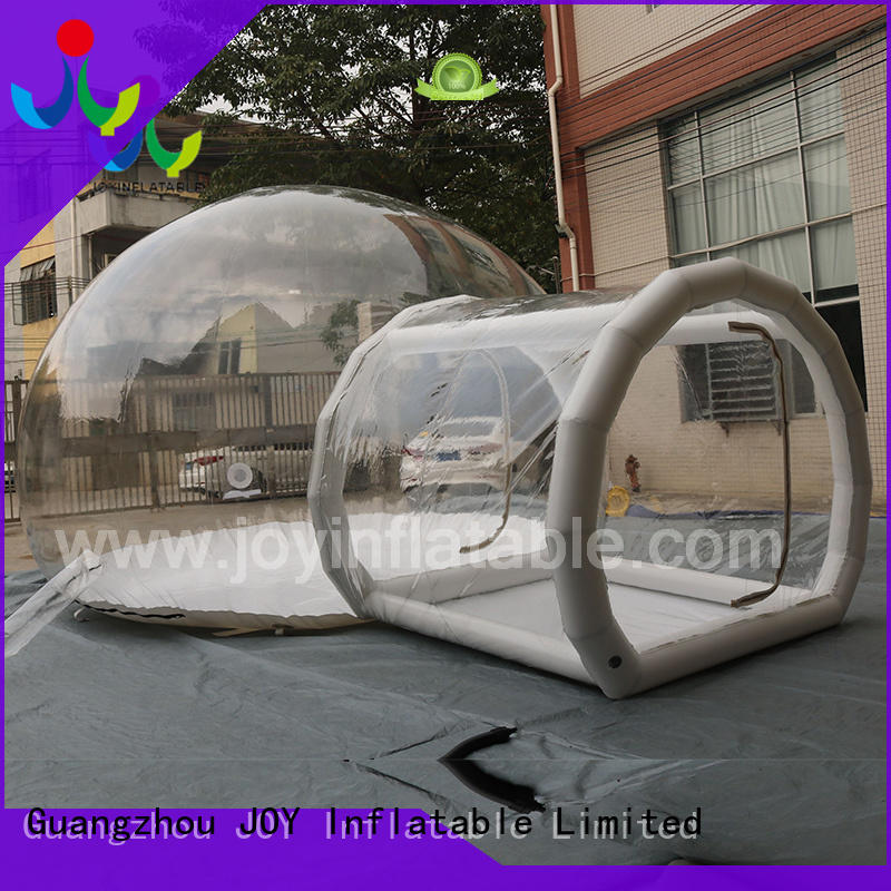 JOY inflatable clean inflatable bubble camping tent supplier for child