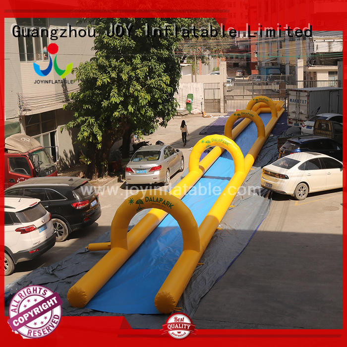 blow up slip and slide from China for children JOY inflatable