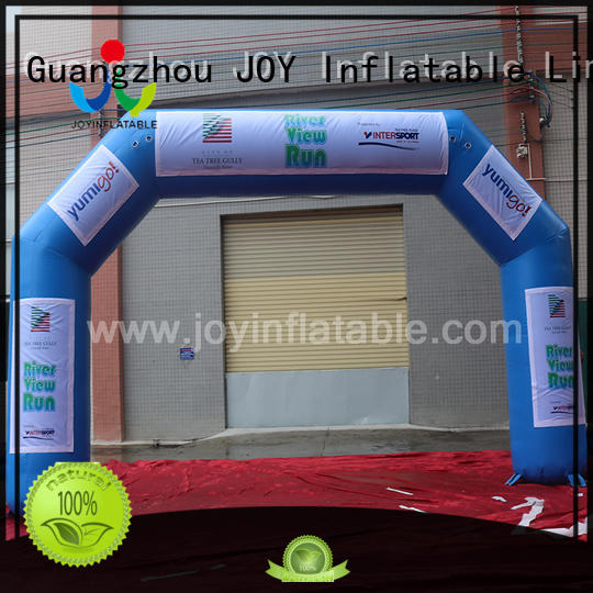 JOY inflatable freestanding inflatable race arch factory price for children