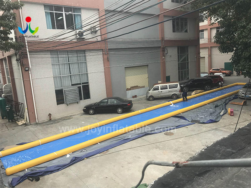 Customized Inflatable City Street Water Slide-1