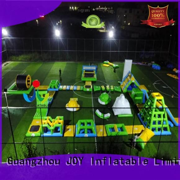JOY inflatable Brand water floating water park lake factory