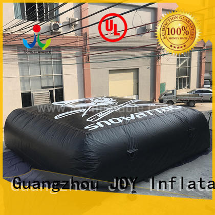 skiing air pillow trampoline customized for children