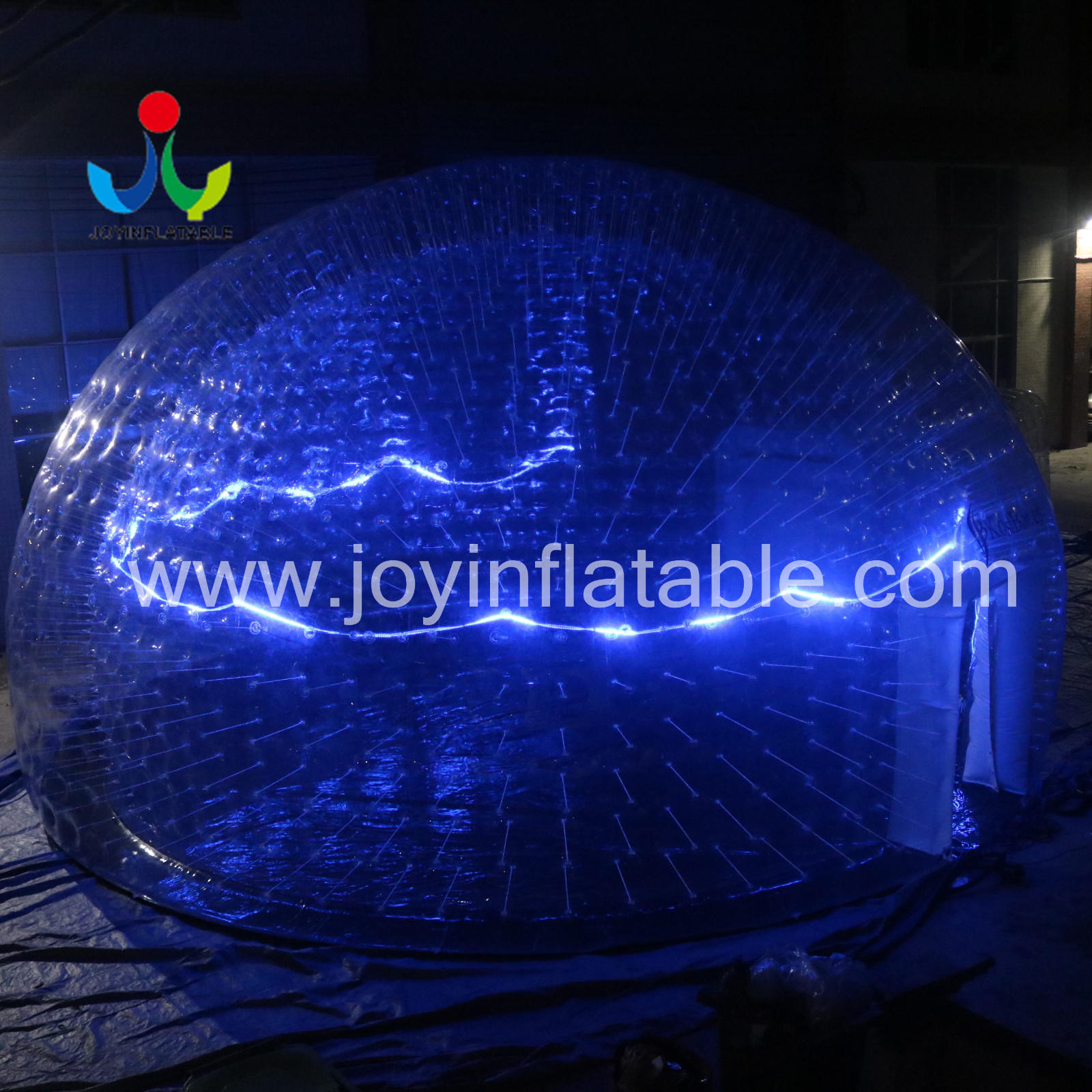 Clear PVC Inflatable LED Light Event Tent-1