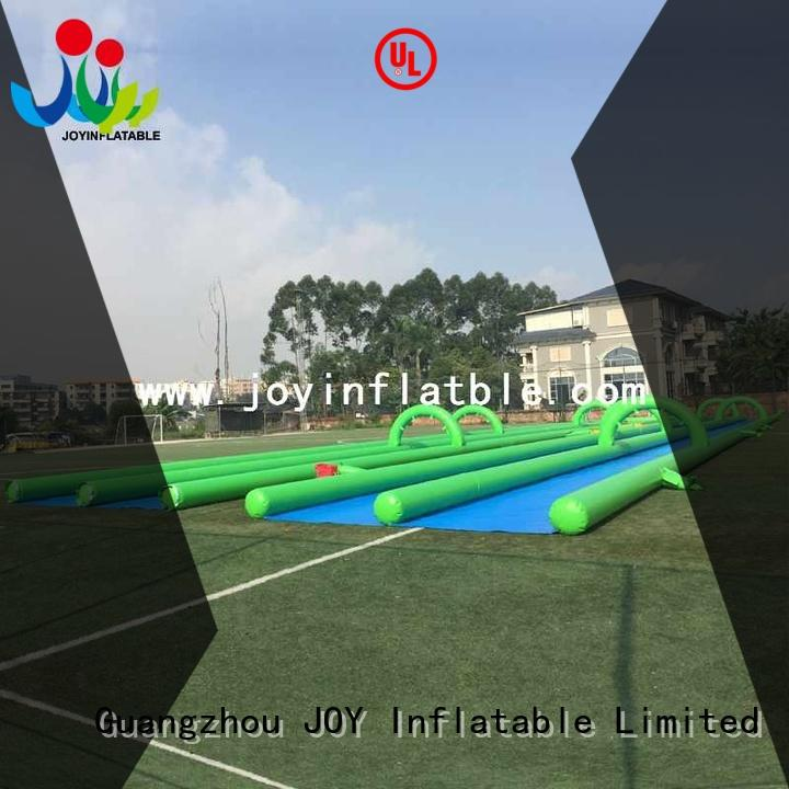 JOY inflatable Brand long trendy giant kids inflatable water slide
