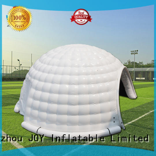 advertising hot selling blow up igloo oxford JOY inflatable company
