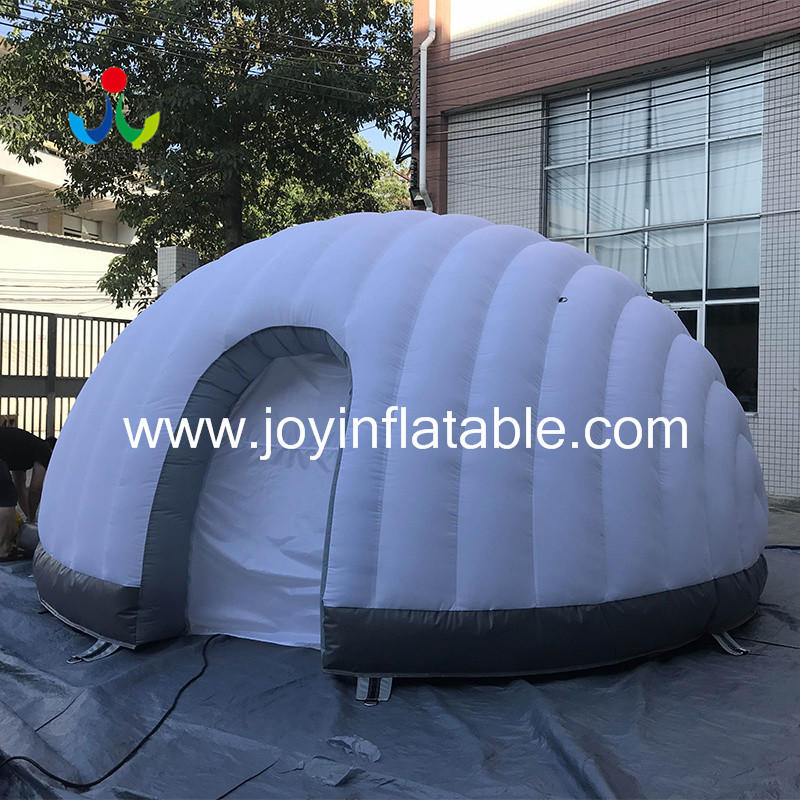 Geodesic Inflatable Igloo Tents For Display-3