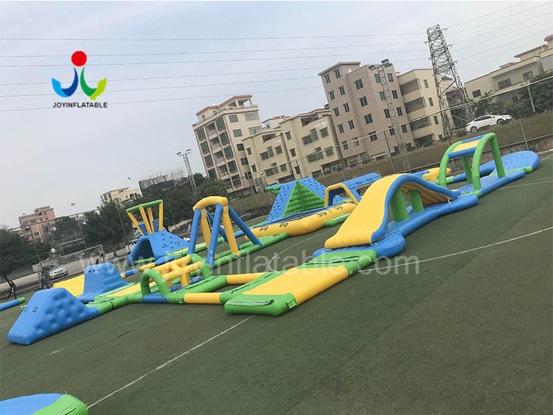 JOY inflatable island inflatable trampoline personalized for kids-1