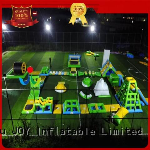 JOY inflatable blow inflatable floating water park factory for children