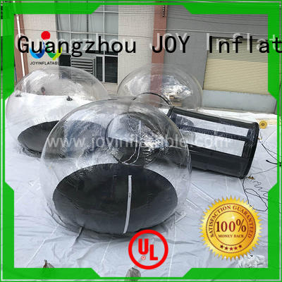 JOY inflatable inflatable lawn tent clear for sale wholesale for kids
