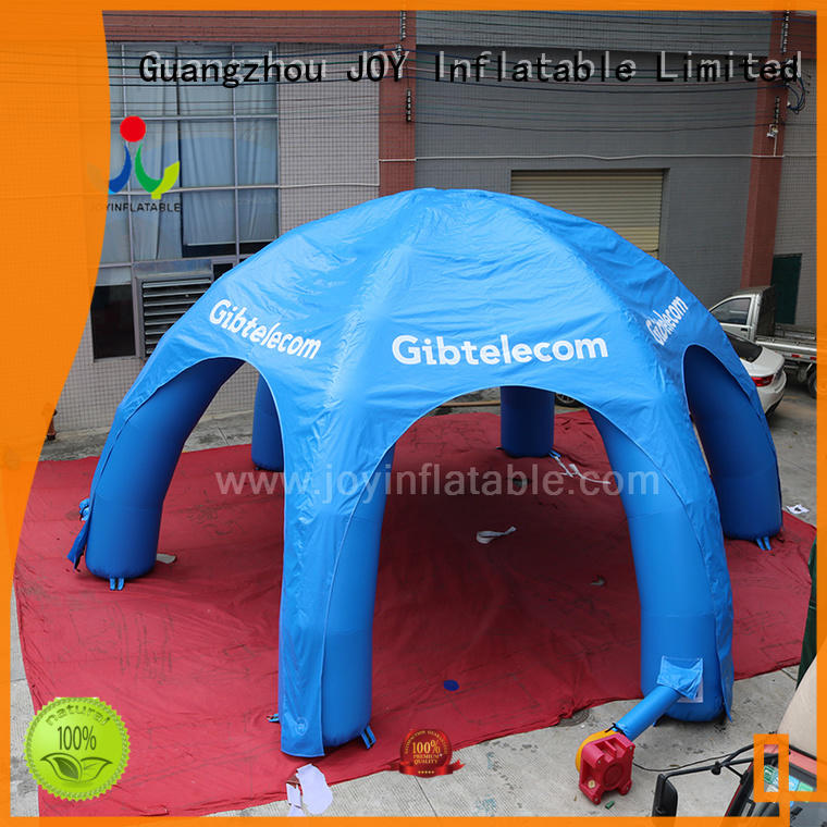 JOY inflatable inflatable canopy tent factory for kids