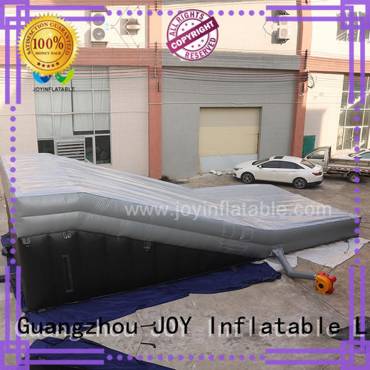 JOY inflatable stunt mattress from China for outdoor
