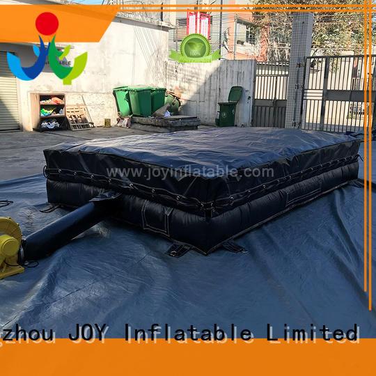 JOY inflatable jump stunt mat series for children