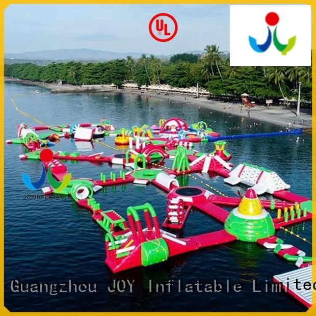 JOY inflatable inflatable floating trampoline design for kids