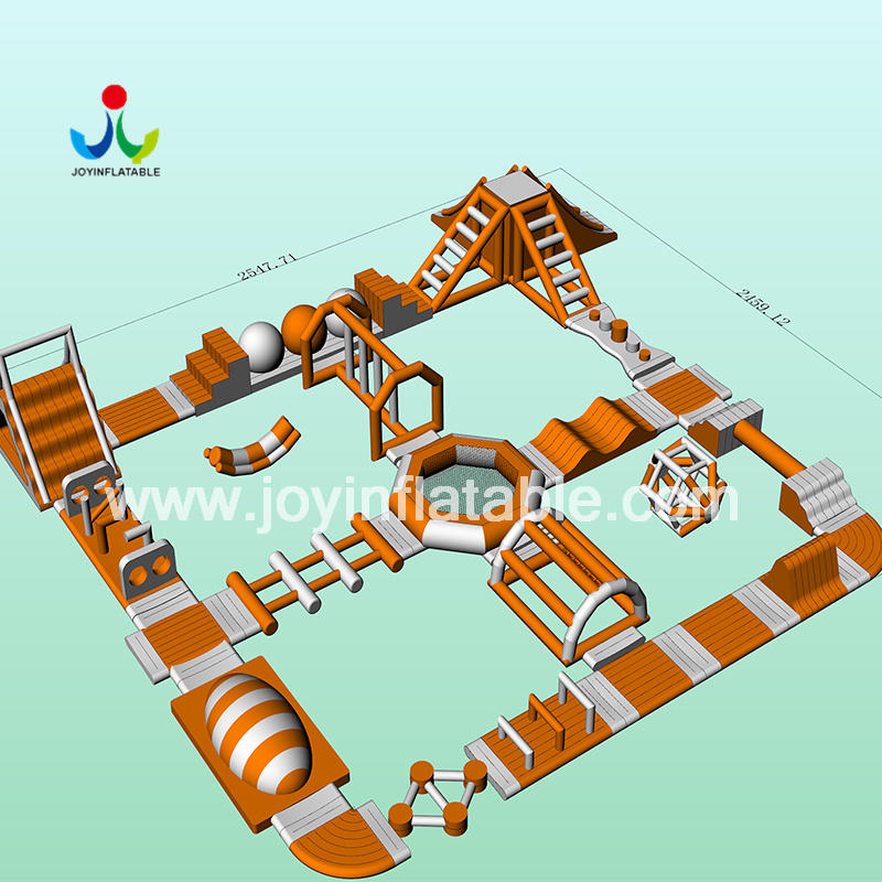 JOY inflatable trampoline water park design for child-1