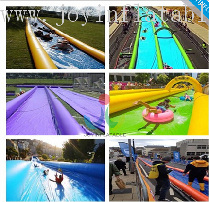 Customized Inflatable City Street Water Slide-3