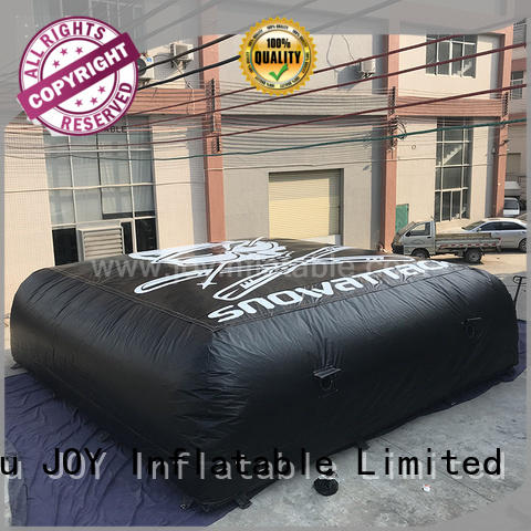 JOY inflatable snowboard stunt pads series for outdoor