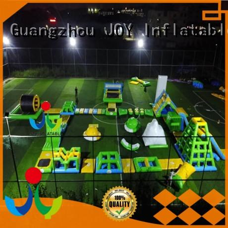 inflatable floating water park course for child JOY inflatable