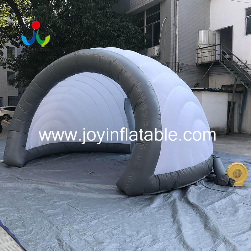 Geodesic Inflatable Igloo Tents For Display-2
