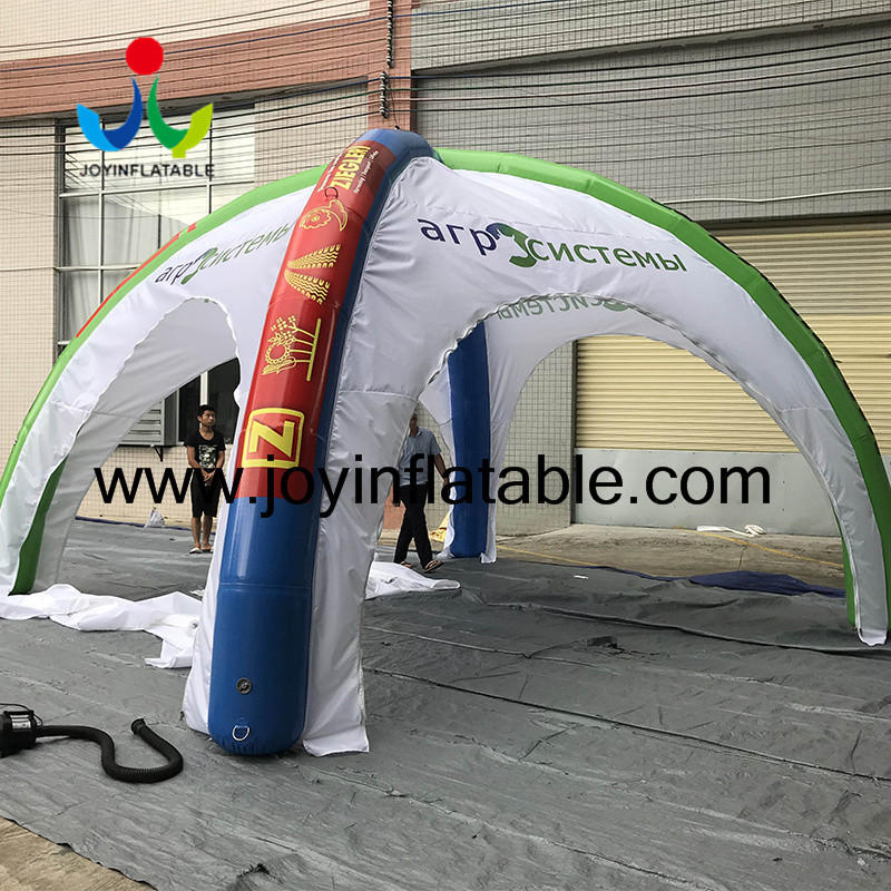 4 Legs Promotional Event Spider Inflatable Tent  Cross Tent-1