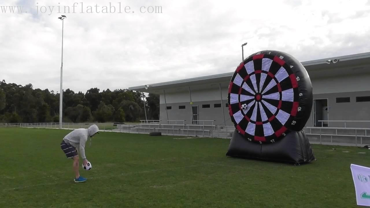 Inflatable Football Dart Board Game With Double Sides-3