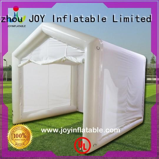 Quality JOY inflatable Brand stage Inflatable cube tent