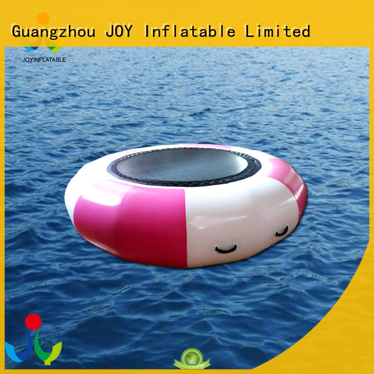 Trampoline Water Bouncer, Inflatable Floating Bungee Trampoline