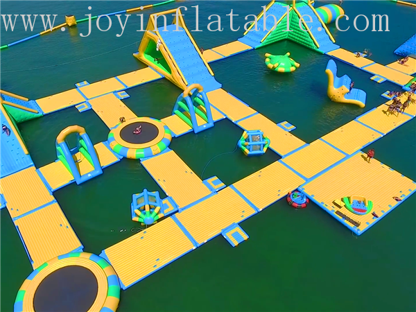 JOY inflatable floating water park inquire now for children-2
