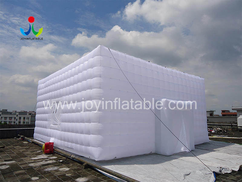 Oxford Sewed Inflatable Cube Tent