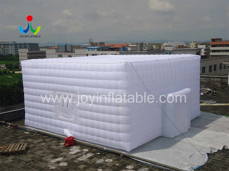 Oxford Sewed Inflatable Cube Tent-4