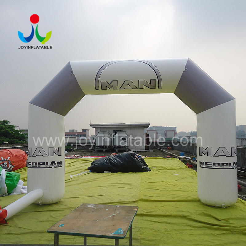 Customized  Logo print Inflatable Entrance Arch For Advertising