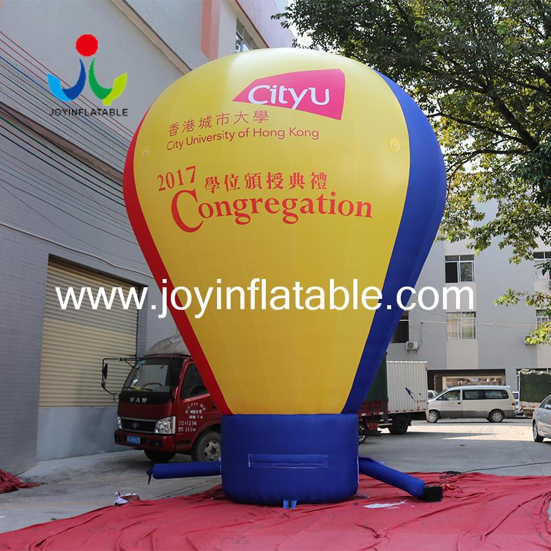 Customized Logo Inflatable Advertising Ground Balloon