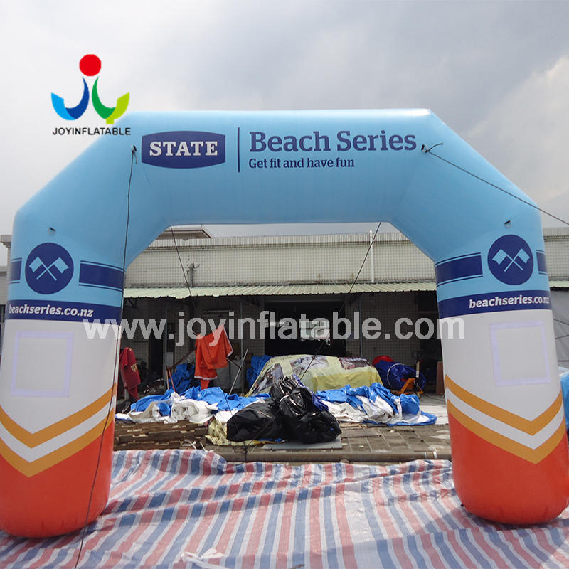 Inflatable Arch Entrance Door For the Ourdoor Sport Racing Run