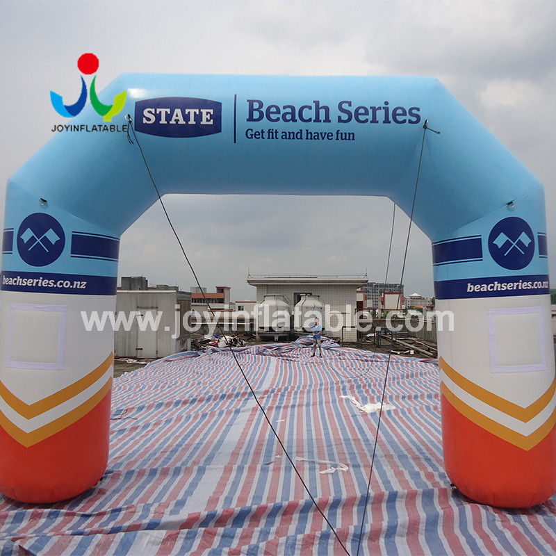 JOY inflatable inflatable start finish line personalized for outdoor-4