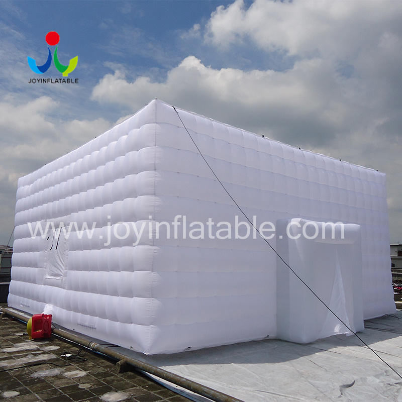 Oxford Sewed Inflatable Cube Tent-1