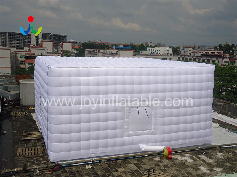 Oxford Sewed Inflatable Cube Tent-3