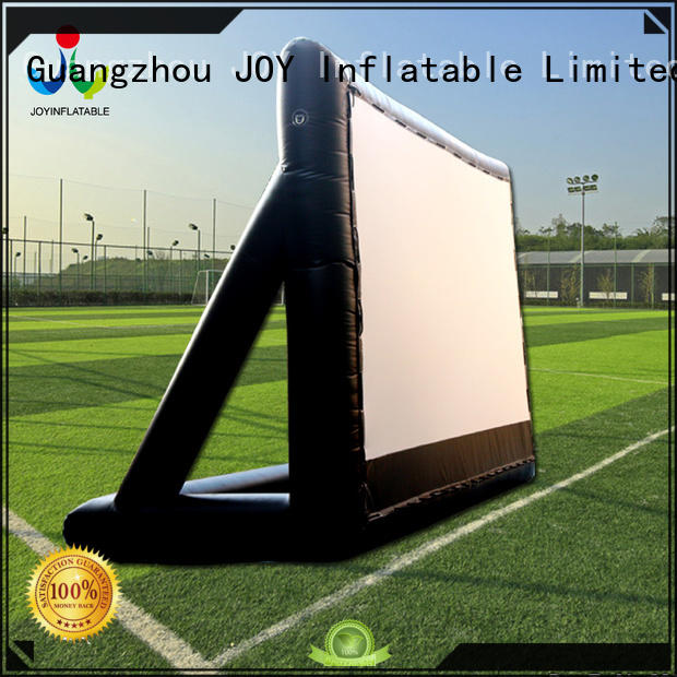 mats inflatable movie screen customized for kids