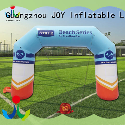 JOY inflatable inflatable start finish line personalized for outdoor