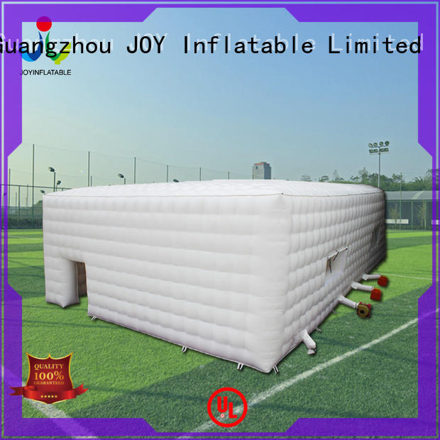 inflatable marquee for sale tunnel hot selling air JOY inflatable Brand Inflatable cube tent