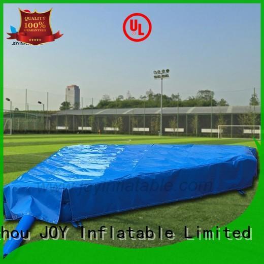 JOY inflatable double stunt trampoline