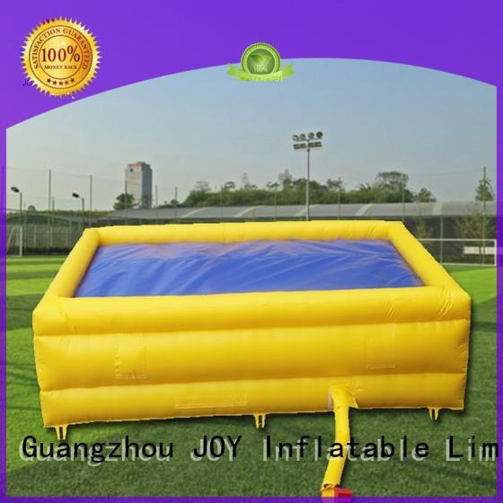 challenge cushion OEM bag jump JOY inflatable