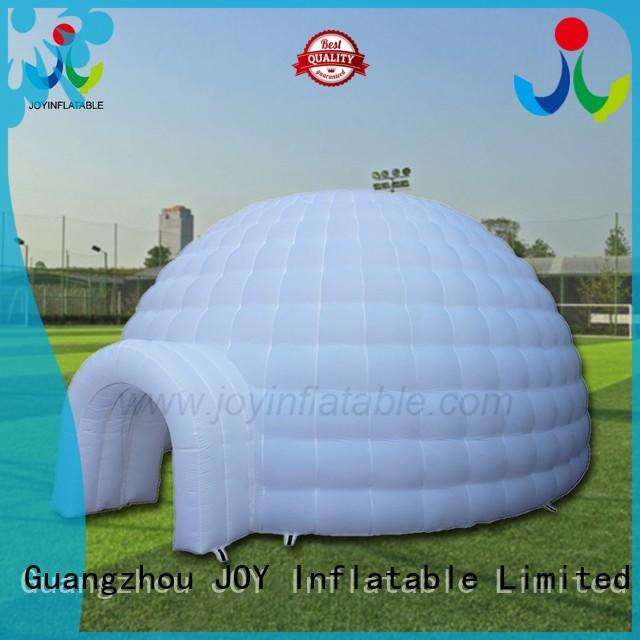 logo igloo led inflatable tent manufacturers JOY inflatable manufacture