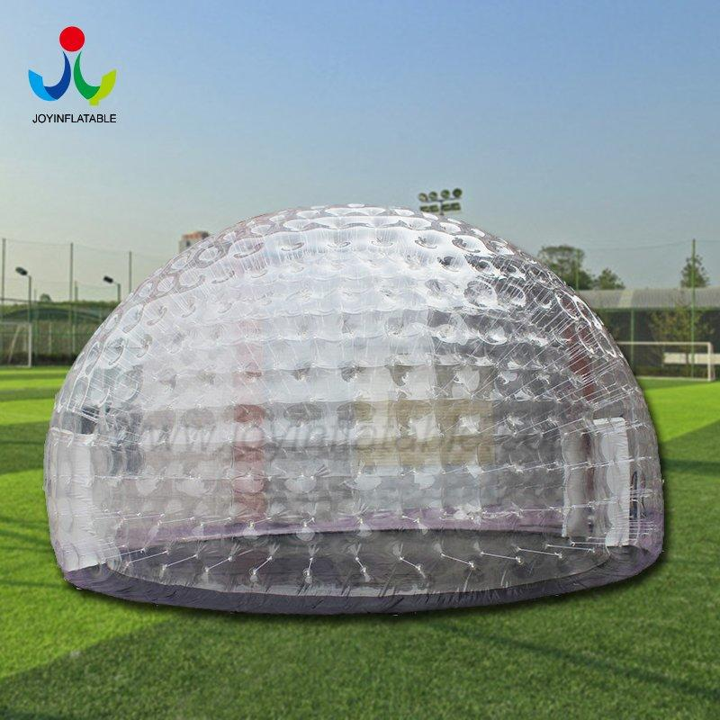 Customize Outdoor  Double Transparent PVC  Dome Tent for Exhibition