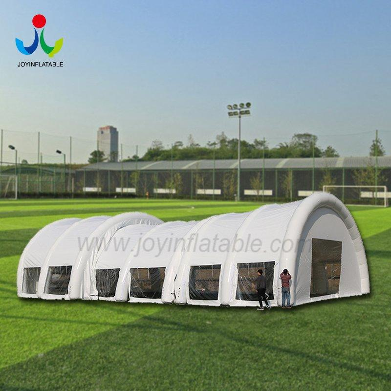Giant Inflatable White & Clear Tent For Sport Event